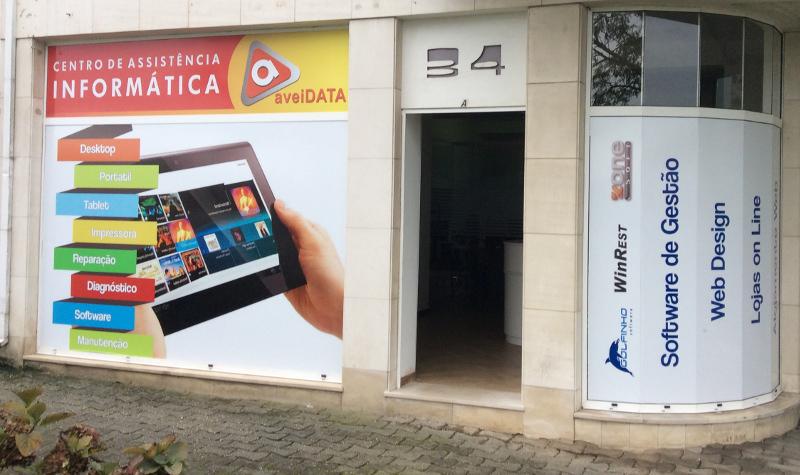 Loja de Informática - Aveidata, Lda